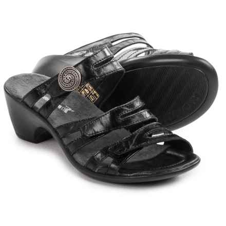 Romika Gorda 01 Sandals - Leather (For Women) in Black - Closeouts