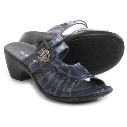 Romika Gorda 03 Leather Sandals (For Women) in Denim - Closeouts