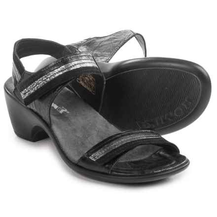 Romika Gorda 05 Sandals - Leather (For Women) in Black - Closeouts