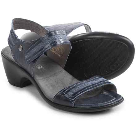 Romika Gorda 05 Sandals - Leather (For Women) in Denim - Closeouts