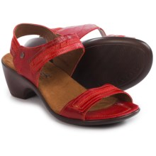 Romika Gorda 05 Sandals - Leather (For Women) in Rubin - Closeouts