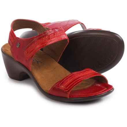 Romika Gorda 05 Sandals - Leather (For Women) in Rubin - Closeouts