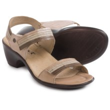 Romika Gorda 05 Sandals - Leather (For Women) in Taupe - Closeouts