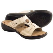 Romika Ibiza 13 Leather Sandals (For Women) in Silver - Closeouts