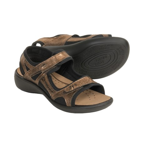 Romika Ibiza 19 Sandals - Leather (For Women) in Bronze