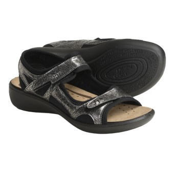 Romika Ibiza 19 Sandals - Leather (For Women) in Graphite