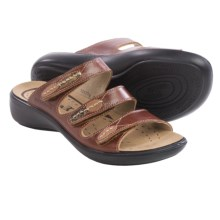 Romika Ibiza 20 Sandals - Leather (For Women) in Brandy - Closeouts