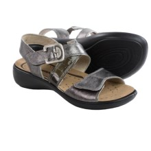 Romika Ibiza 30 Sandals - Leather (For Women) in Basalt Metallic - Closeouts