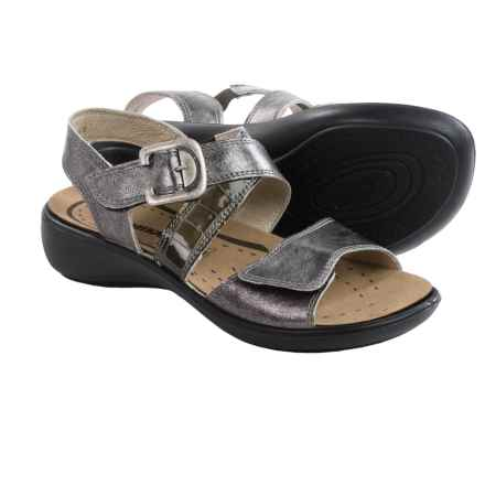 Romika Ibiza 30 Sandals - Leather (For Women) in Basalt Metallic - Closeouts