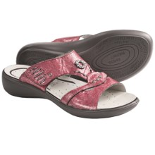 Romika Ibiza 36 Sandals - Leather (For Women) in Red - Closeouts