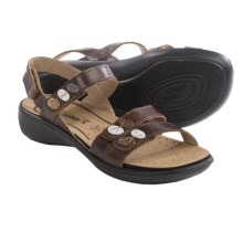 Romika Ibiza 55 Sandals - Leather (For Women) in Brown - Closeouts