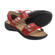 Romika Ibiza 55 Sandals - Leather (For Women) in Red - Closeouts