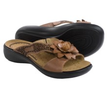Romika Ibiza 62 Sandals - Leather (For Women) in Bark - Closeouts
