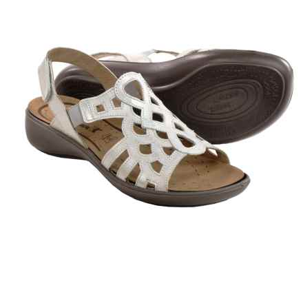 Romika Ibiza 63 Sandals - Leather (For Women) in Argento - Closeouts