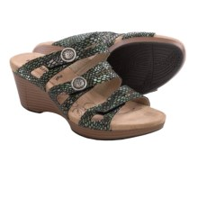 Romika Jamaika 02 Wedge Sandals (For Women) in Anthracite - Closeouts