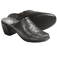 Romika Luna 01 Clogs - Leather (For Women) in Graphite - Closeouts