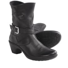 Romika Lyon 02 Boots - Leather (For Women) in Black - Closeouts