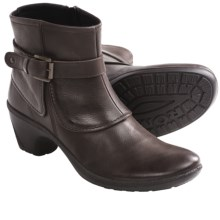 Romika Lyon 04 Ankle Boots - Leather, Side Zip (For Women) in Espresso - Closeouts