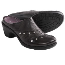 Romika Lyon 06 Clogs - Leather (For Women) in Black - Closeouts