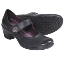 Romika Lyon 08 Mary Jane Shoes - Leather (For Women) in Black - Closeouts