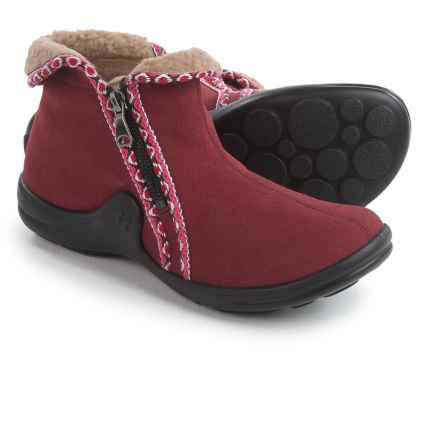 Romika Maddy H 10 Ankle Boots - Fleece Lined (For Women) in Red - Closeouts