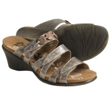 Romika Maui 01 Sandals - Leather (For Women) in Platinum - Closeouts