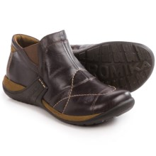 Romika Milla 102 Ankle Boots - Leather, Slip-Ons (For Women) in Brown - Closeouts