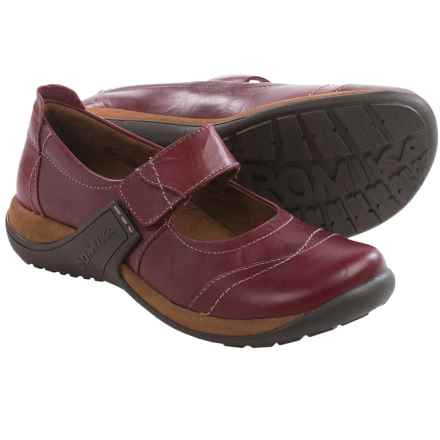 Romika Milla 96 Mary Jane Shoes - Leather (For Women) in Wine - Closeouts