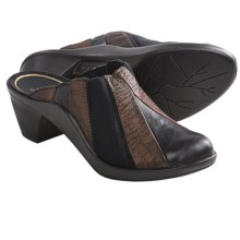 Romika Mokassetta 251 Clogs - Leather (For Women) in Black/Bronze - Closeouts