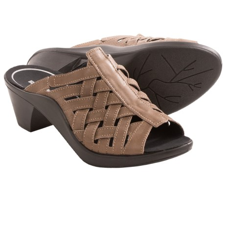 Romika Mokassetta 262 Leather Sandals Peep Toe (For Women)
