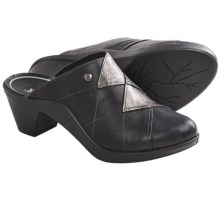 Romika Mokassetta 270 Clogs - Leather (For Women) in Black Combo - Closeouts