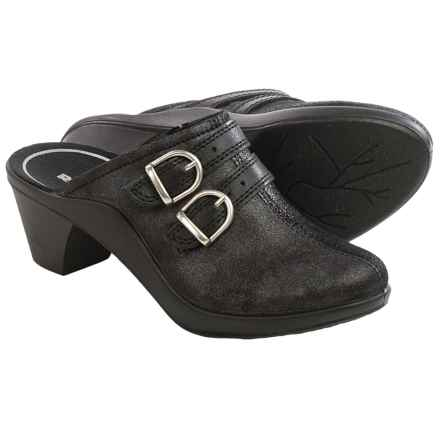 Romika Mokassetta 294 Clogs - Leather (For Women) in Black - Closeouts