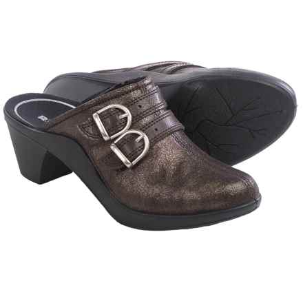 Romika Mokassetta 294 Clogs - Leather (For Women) in Mocha - Closeouts