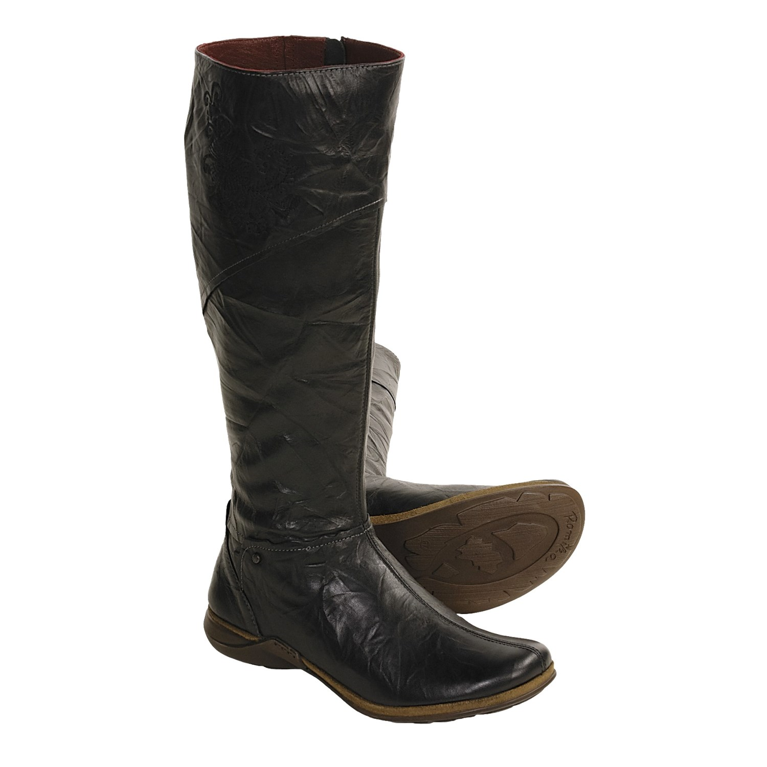 Womens Tall Dress Boots Find yourself a comfortable, stylish, supportive tall boot from our collection of Women's Tall Dress Boots. We have styles that will pair perfectly with anything from casual skinny jeans to comfortable leggings to business attire, and with name brands such as BareTraps, Steve Madden and Unlisted, you will be sure to find.