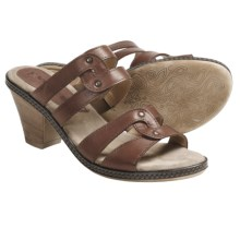 Romika Nizza 01 Sandals - Leather (For Women) in Castagne - Closeouts