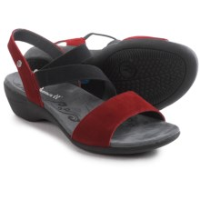Romika Palma 03 Sandals - Leather (For Women) in Red - Closeouts