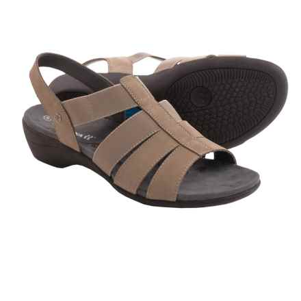 Romika Palma 05 Sandals (For Women) in Taupe Nubuck - Closeouts