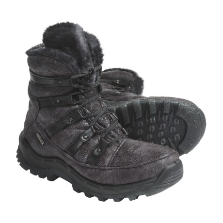 Romika Polar 80 Boots (For Women) in Asphalt