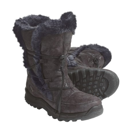 Romika Polar 81 Boots - Insulated (For Women) in Asphalt