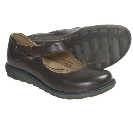 Romika Sonja 02 Mary Jane Shoes - Leather (For Women) in Espresso