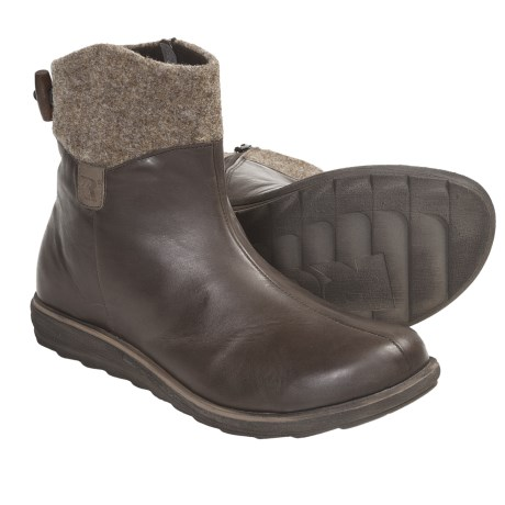 Romika Sonja 05 Boots - Side Zip (For Women) in Espresso