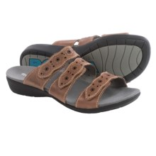 Romika Tahiti 01 Sandals - Leather (For Women) in Bark Surf - Closeouts