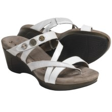 Romika Waikiki 14 Sandals - Leather (For Women) in White - Closeouts