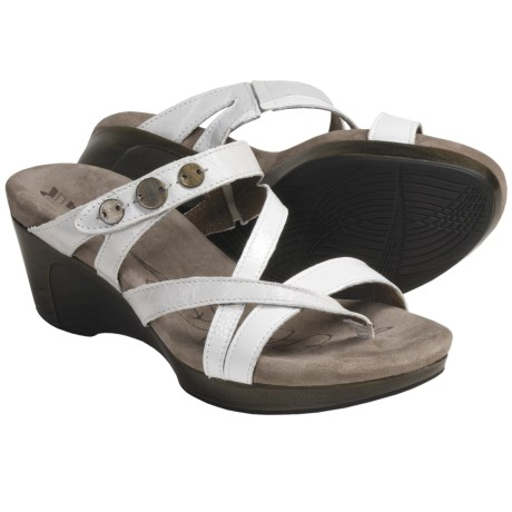 Romika Waikiki 14 Sandals - Leather (For Women) in White