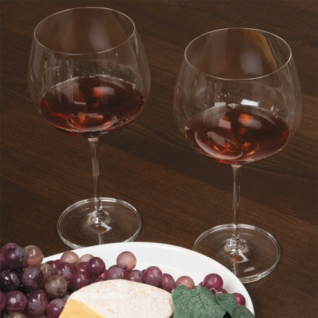 Rona Wine Expert Burgundy Wine Glasses - Crystal, Set of 2 in See Photo