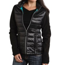 Roper 50/50 Crushable Down Jacket (For Women) in Black - Closeouts