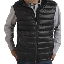 Roper 50/50 Crushable Down Vest (For Men) in Black - Closeouts