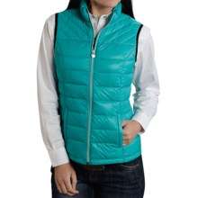 Roper 50/50 Crushable Down Vest (For Women) in Blue - Closeouts