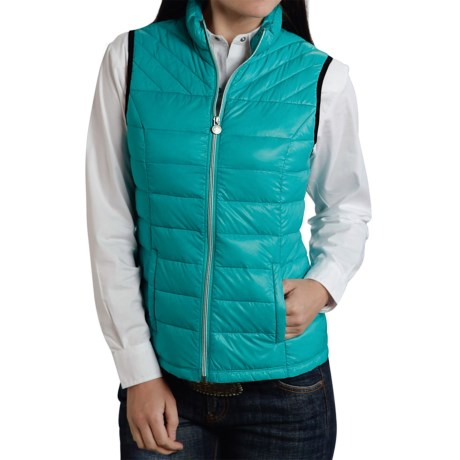 Roper 50/50 Crushable Down Vest (For Women)