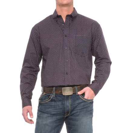 Roper Amarillo Western Shirt - Long Sleeve (For Men) in Circle Square Foulard - Closeouts